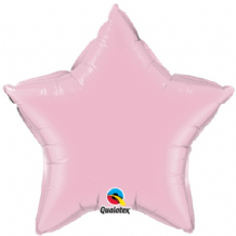 "Pearl Pink Star Foil Balloon (36"") 1pc"